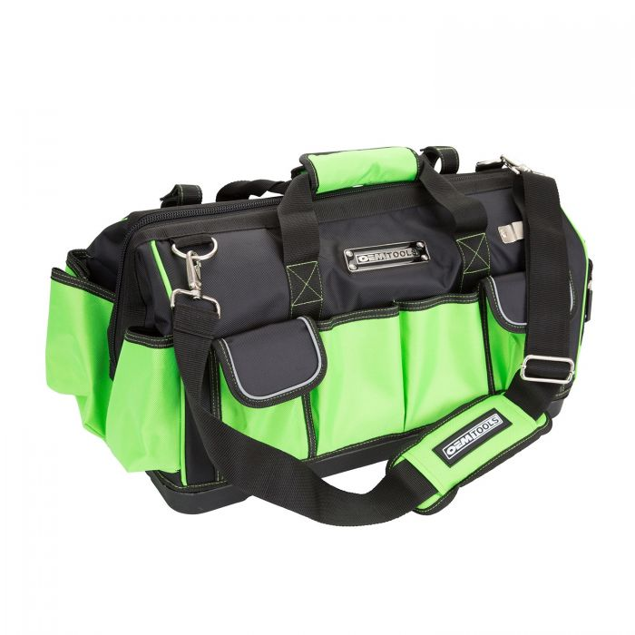 OEMTOOLS 24543 Wide Mouth Tool Bag with Rigid Base